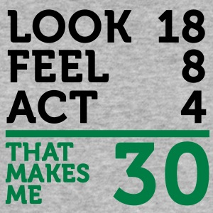 Look Feel Act 30 (2c)++ T-Shirts - Men's Slim Fit T-Shirt