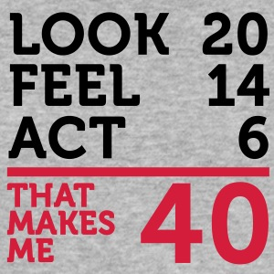 Look Feel Act 40 (2c)++ T-shirts - Slim Fit T-shirt herr