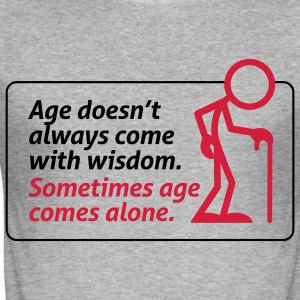 Age With Wisdom 1 (2c) T-Shirts - Men's Slim Fit T-Shirt