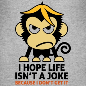 Life Isnt A Joke 3 (dd)++ T-shirts - slim fit T-shirt