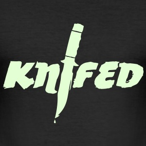 Knifed - Games - eSport T-Shirts - Männer Slim Fit T-Shirt