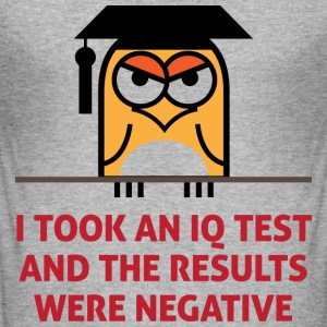 Iq Test 2 (dd)++ T-shirts - Slim Fit T-shirt herr
