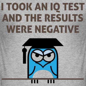Iq Test 3 (dd)++ T-shirts - Herre Slim Fit T-Shirt