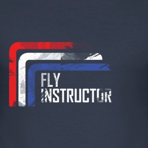 fly instructor T-shirts - slim fit T-shirt