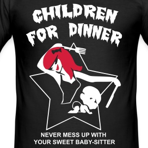 Children for dinner - Tee shirt près du corps Homme