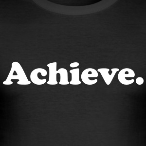 achieve T-shirts - Slim Fit T-shirt herr