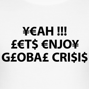 enjoy global crisis T-shirts - Slim Fit T-shirt herr