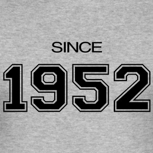 birthday gift 1952 T-Shirts - Men's Slim Fit T-Shirt