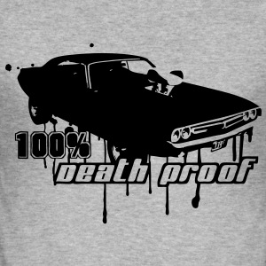72 Dodge Challenger - 100% Death Proof T-Shirts - Männer Slim Fit T-Shirt