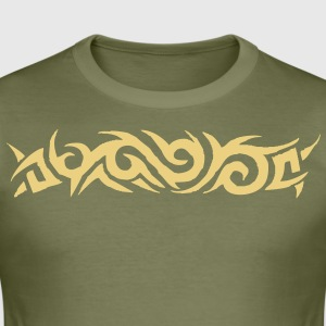 tribal tattoo T-shirt - Maglietta aderente da uomo