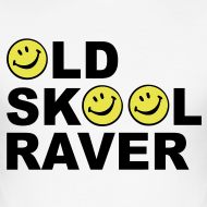 Design ~ Old Skool rave T-shirt