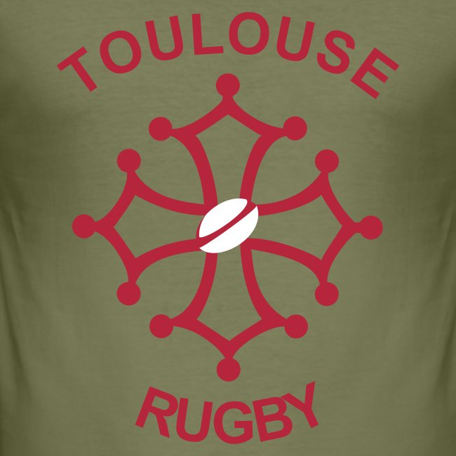 T-shirt noir Toulouse Rugby