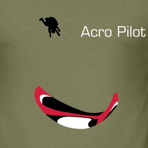Paraglider Acro Tee shirts - Tee shirt près du corps Homme