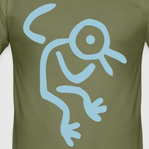 Dream Bird Man Men's T-Shirt by American Apparel by Cheerful Madness!! - Men's Slim Fit T-Shirt