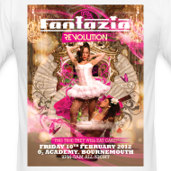 Design ~ Fantazia Revolution Event Flyer T-shirt