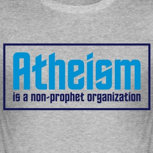 Atheism 3 (2c)++ T-Shirts - Men's Slim Fit T-Shirt