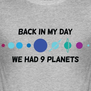 Back In My Day 1 (dd)++ T-shirts - Herre Slim Fit T-Shirt