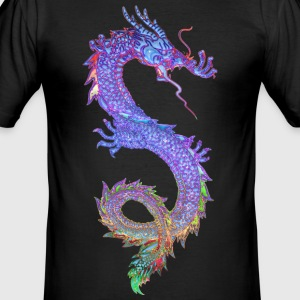 MAGIC DRAGON | Männershirt slim fit - Männer Slim Fit T-Shirt