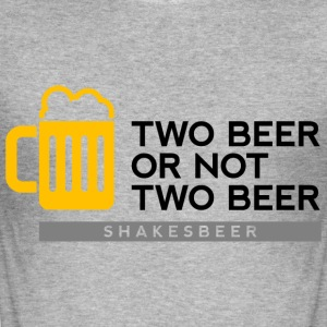 Two Beer Shakesbeer 2 (dd)++ Tee shirts - Tee shirt près du corps Homme