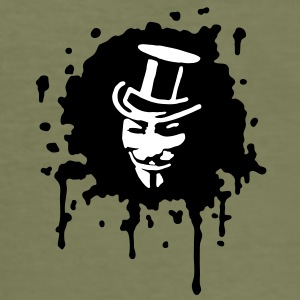 guy fawkes, occupy, we are 99%,  T-Shirts - Männer Slim Fit T-Shirt