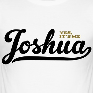 Joshua (Yes It's Me) - slim fit T-shirt