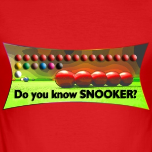 Do you know SNOOKER? | Männershirt slim fit - Männer Slim Fit T-Shirt