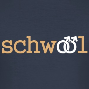 Schwool - Slim Fit - Männer Slim Fit T-Shirt