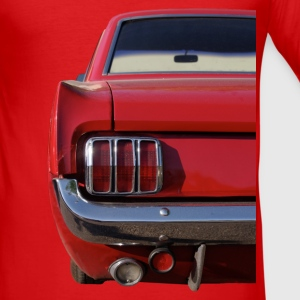 Sixties-Mustang back T-Shirts - Männer Slim Fit T-Shirt