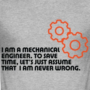 I Am A Mechanical Engineer 5 (dd)++ T-shirts - Herre Slim Fit T-Shirt