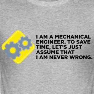 I Am A Mechanical Engineer 4 (dd)++ Camisetas - Camiseta ajustada hombre