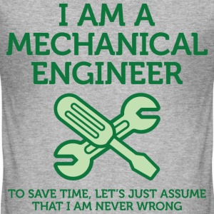 I Am A Mechanical Engineer 2 (dd)++ T-Shirts - Männer Slim Fit T-Shirt