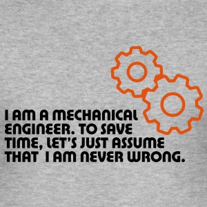 I Am A Mechanical Engineer 5 (2c)++ Camisetas - Camiseta ajustada hombre