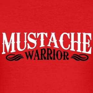 mustache warrior T-Shirts - Männer Slim Fit T-Shirt