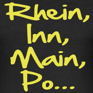 rhein_inn_main_po T-Shirts - Männer Slim Fit T-Shirt
