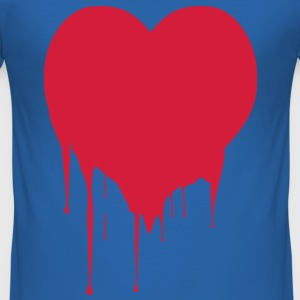 Heart Men's T-shirt - Men's Slim Fit T-Shirt