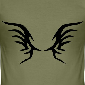 Wings Men's T-shirt - Men's Slim Fit T-Shirt