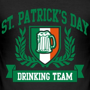 st. patrick's day drinking team T-shirts - slim fit T-shirt