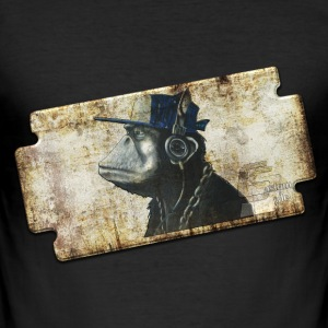 donkey 1 by customstyle Tee shirts - Tee shirt près du corps Homme