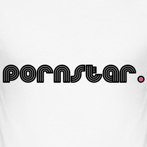 pornstar. T-Shirts - Men's Slim Fit T-Shirt