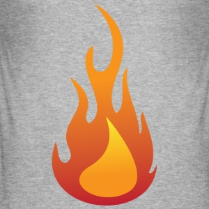 Flame (dd)++ T-shirts - Slim Fit T-shirt herr