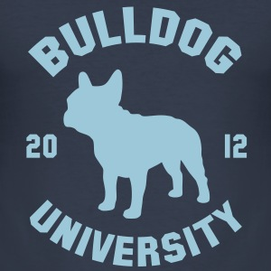 BULLDOG UNIVERSITY  T-shirts - Slim Fit T-shirt herr
