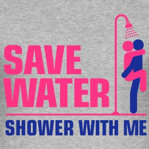 Save Water 3 (2c)++ T-Shirts - Men's Slim Fit T-Shirt