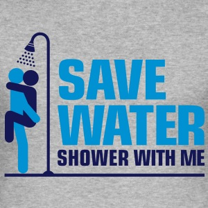 Save Water 2 (2c)++ T-Shirts - Männer Slim Fit T-Shirt