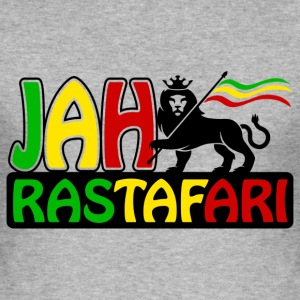 jah rastafari T-Shirts - Men's Slim Fit T-Shirt