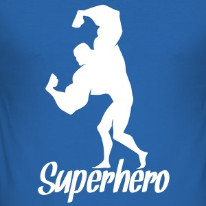 superhero T-Shirts - Men's Slim Fit T-Shirt