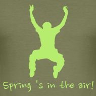 Ontwerp ~ T-shirt Spring 's in the air!