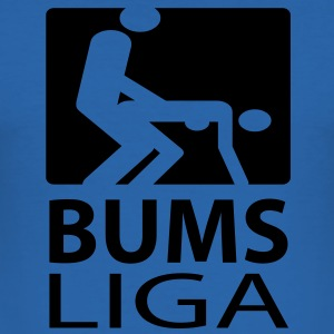 bums_liga T-Shirts - Männer Slim Fit T-Shirt