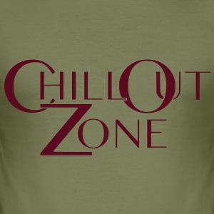 ChillOutZone - Männer Slim Fit T-Shirt