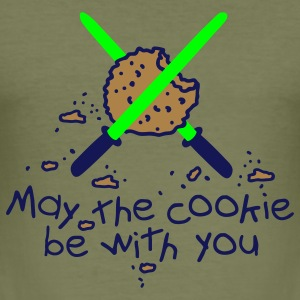 May the cookie be with you T-shirt - Maglietta aderente da uomo