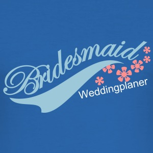bridesmaid (2c) T-Shirts - Men's Slim Fit T-Shirt